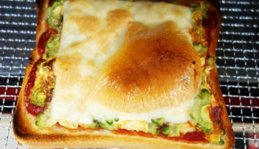 【ピーマンの代用】苦味なし!絶品ゴーヤピザトースト