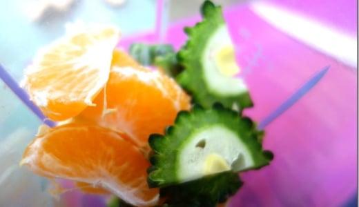 【熊本発】ゴーヤみかんジュースはゴーヤの配分少なめが良い。