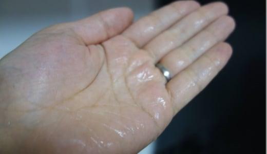 【化粧水】わずかに採れたゴーヤ水が肌にいいのか、塗ってみた。