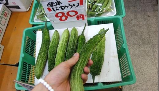 【検証】熊本産ゴーヤは本当に沖縄産より細くて苦いのか?食べてみた。